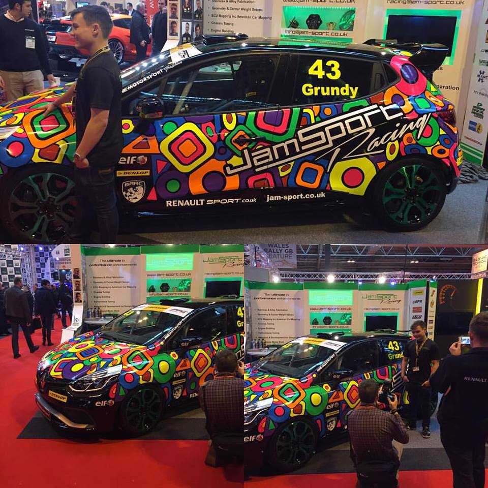 tomgrundy97 new livery at #autosport international