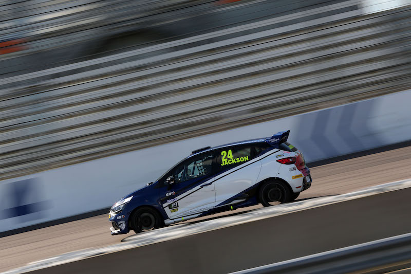 George Jackson (GBR) Team Cooksport Renault Clio Cup