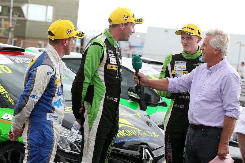 Renault Clio Cup TV with Steve Rider