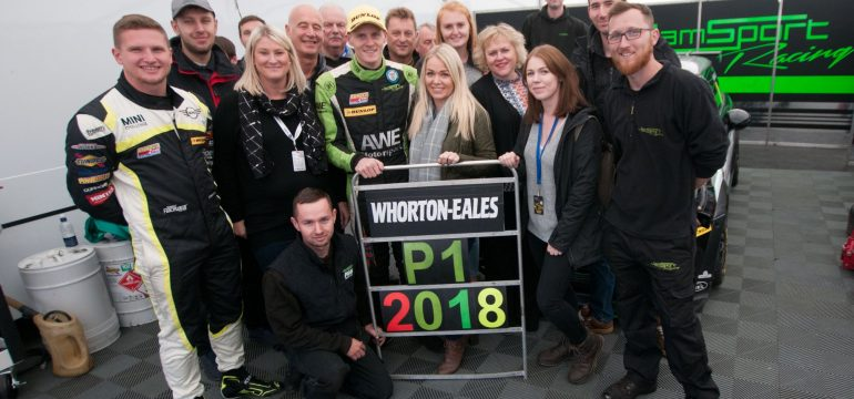 Ant Whorton-Eales and JamSport Win The 2018 MINI CHALLENGE UK
