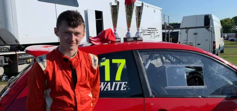 Congratulations to James Waite